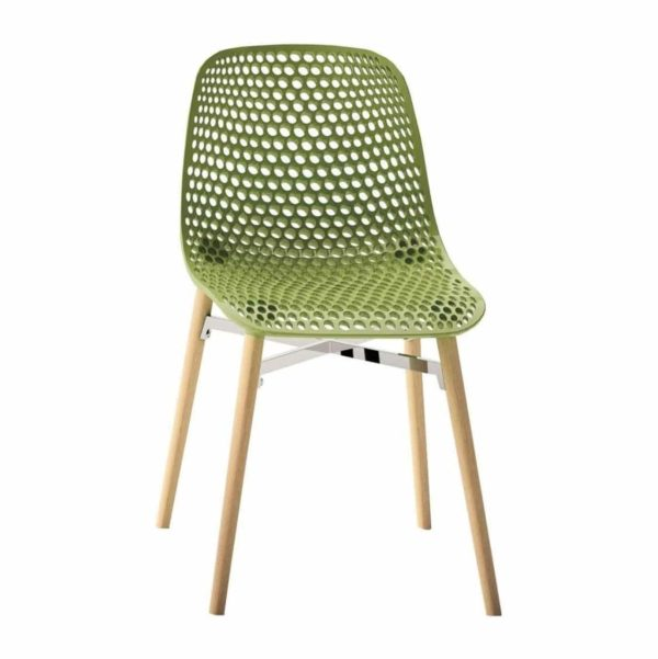 Next Side Chair DeFrae Contract Furniture Green