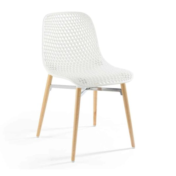 Next Side Chair DeFrae Contract Furniture White