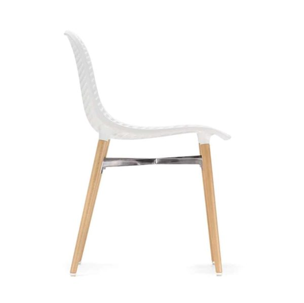 Next Side Chair DeFrae Contract Furniture White Side