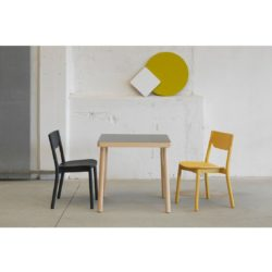 Nico Complete Table Natural Wood Stain DeFrae Contract Furniture In Situ