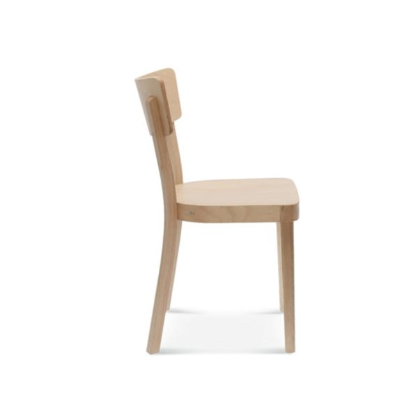 Orlando side chair wood restaurant chair DeFrae contract furniture A-9449