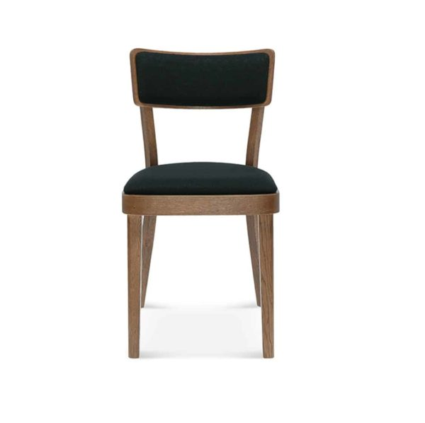 Orlando upholstered side chair upholstered wood restaurant chair DeFrae contract furniture A-9449