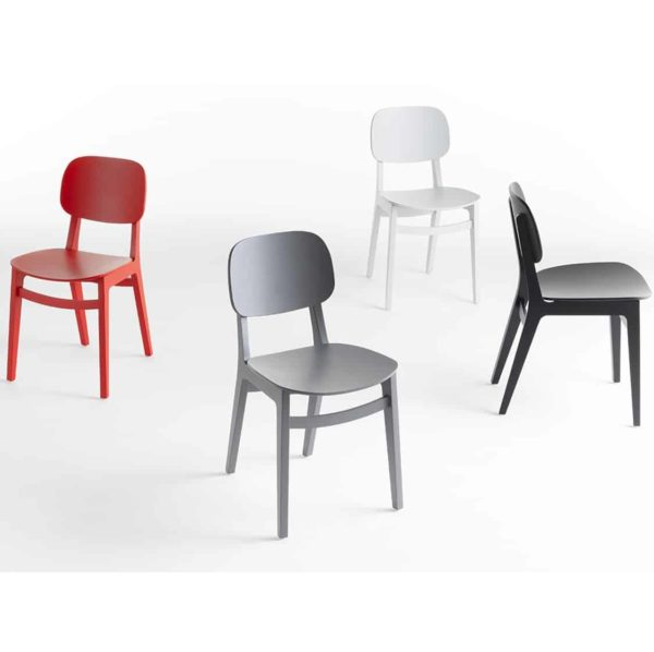 Oxford Side Chair X Kiti Wooden Restaurant Chair at DeFrae Contract Furniture Colours