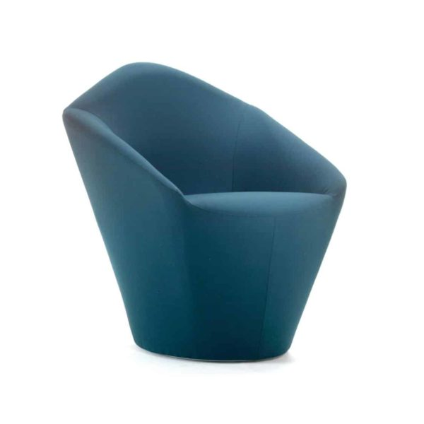 Penta Armchair at DeFrae Contrat Furniture Blue
