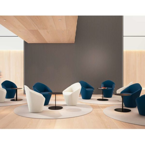 Penta Armchair at DeFrae Contrat Furniture In Situ