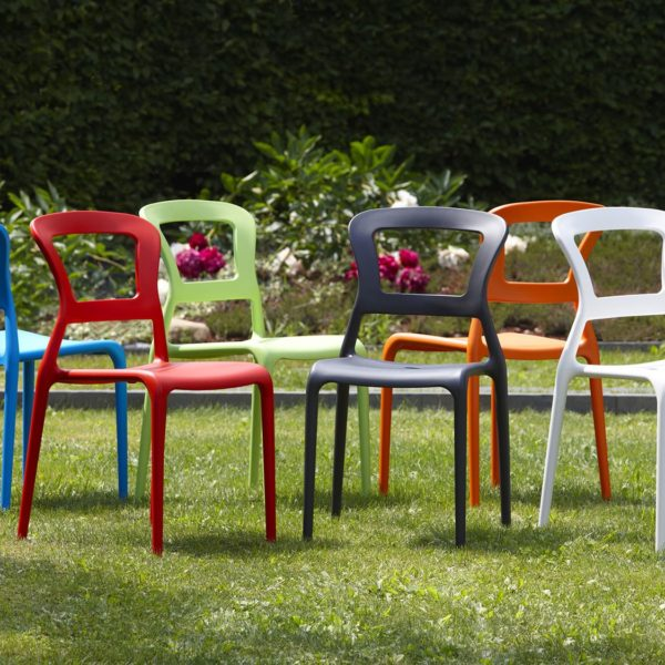 Pepper Side Chair DeFrae Contract Furniture Outside Colours