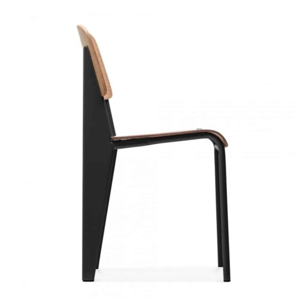 Perry Side Chair DeFrae Contract Furniture Side View