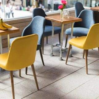 Beany Green Regents Place Coffee Shop Furniture by DeFrae Contract Furniture