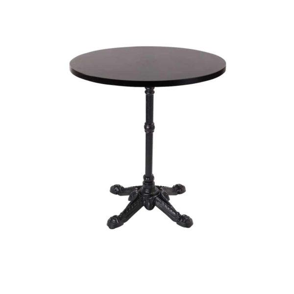 Premium Laminate 25mm Tabletop Wenge Bistro Base Round