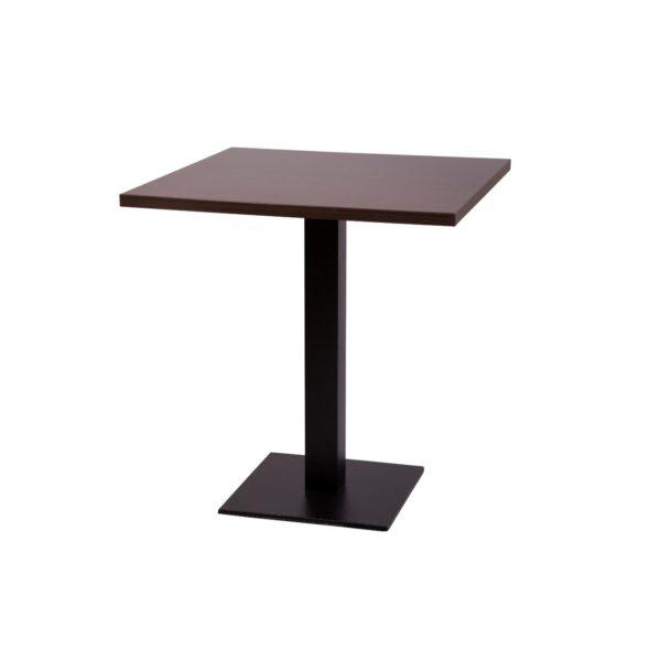 Premium Laminate 25mm Tabletop Wenge ForPremium Laminate 25mm Tabletop Wenge Forza Square Baseza Square Base