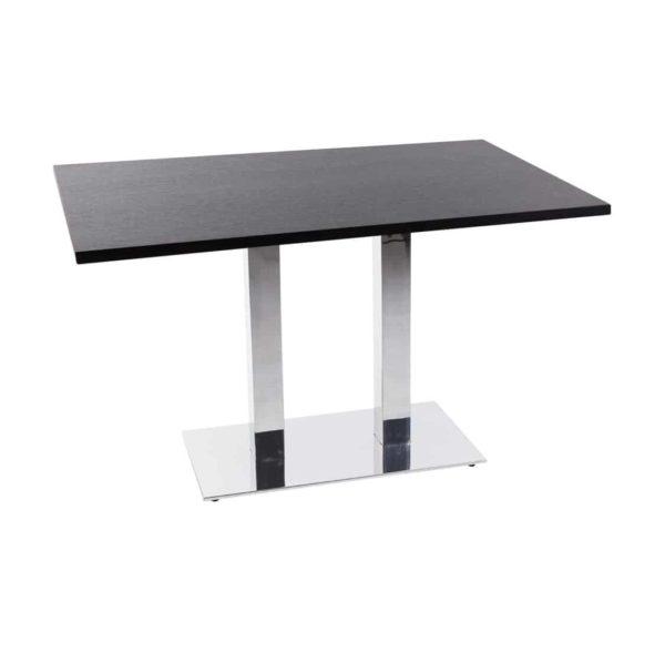 Premium Laminate 25mm Tabletop Wenge Lustra Twin Base