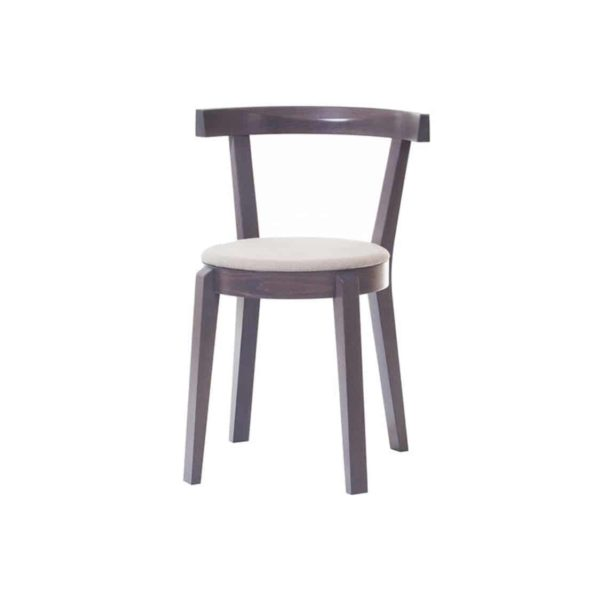 Punton Side Chair Upholstered Seat DeFrae Contract Furniture