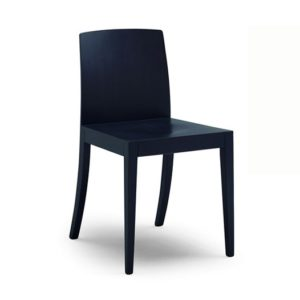 The Regine side chair is a classic wood chair. Add a touch of class to your restaurant, bar or coffee shop.