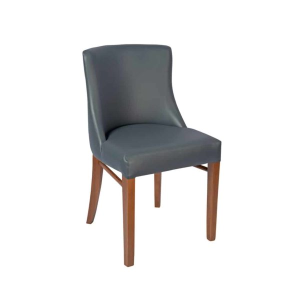 Repton Side Chair DeFrae Contract Furniture Grey