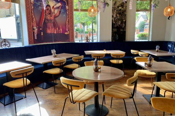 Restaurant Furniture by DeFrae Contract Furniture at Tandoor At The Chambers