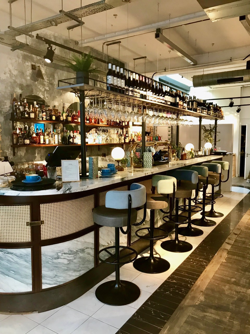Juno Bar Stools by DeFrae Contract Furniture at Scarlett Green, London