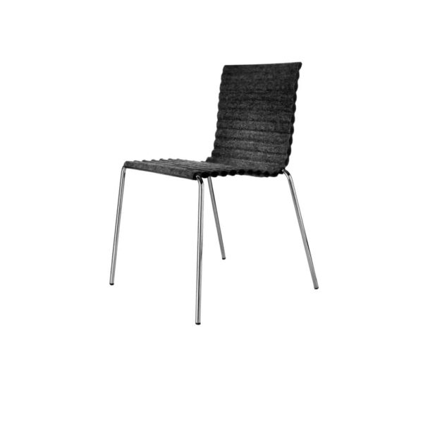 Rib Side Chair Eco Friendly Johanson Design at DeFrae Contract Furniture 3