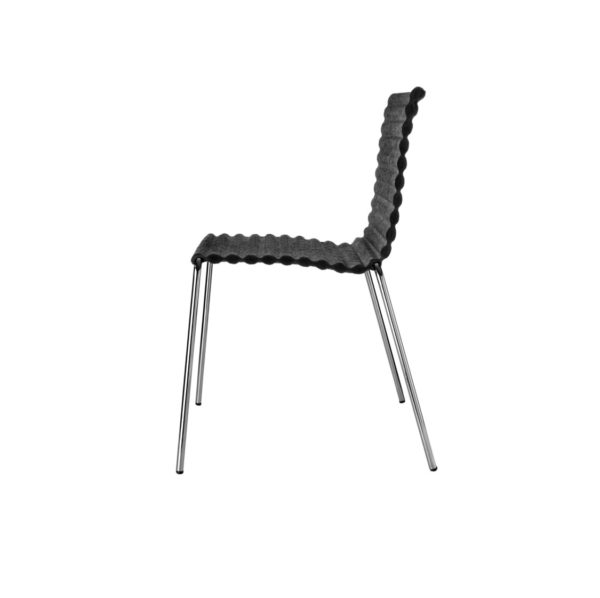 Rib Side Chair Eco Friendly Johanson Design at DeFrae Contract Furniture 4