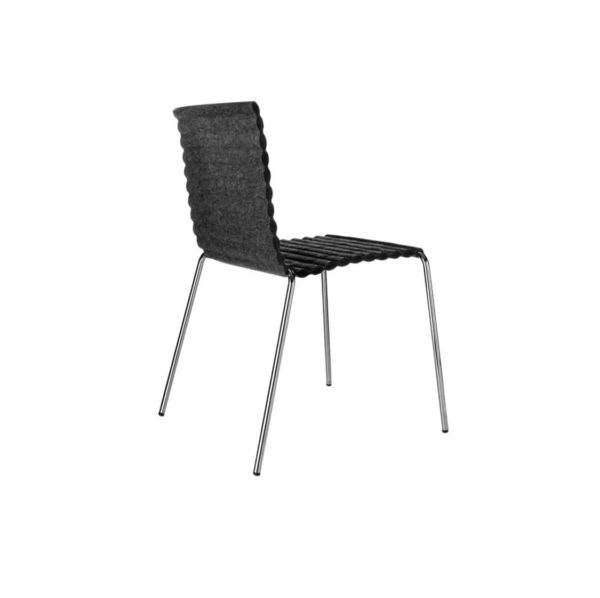 Rib Side Chair Eco Friendly Johanson Design at DeFrae Contract Furniture 5