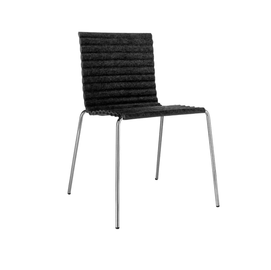 Rib Side Chair Eco Friendly Johanson Design at DeFrae Contract Furniture