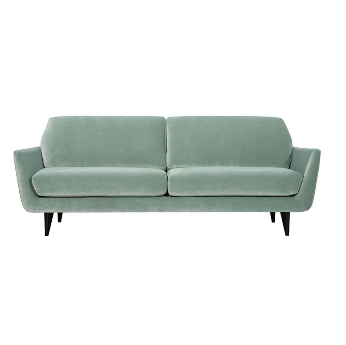 Richmond Sofa 3 Seater DeFrae Contract Furniture Rucola Sits Grey