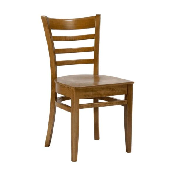 Rimini Classic Wood Chair DeFrae Contract Furniture Oak