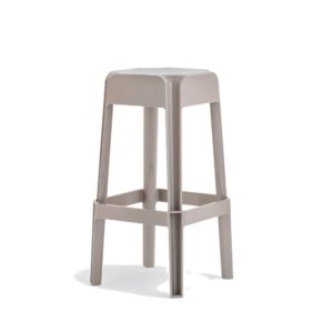 Rubik 580 Bar Stool Pedrali at DeFrae Contract Furniture Cream