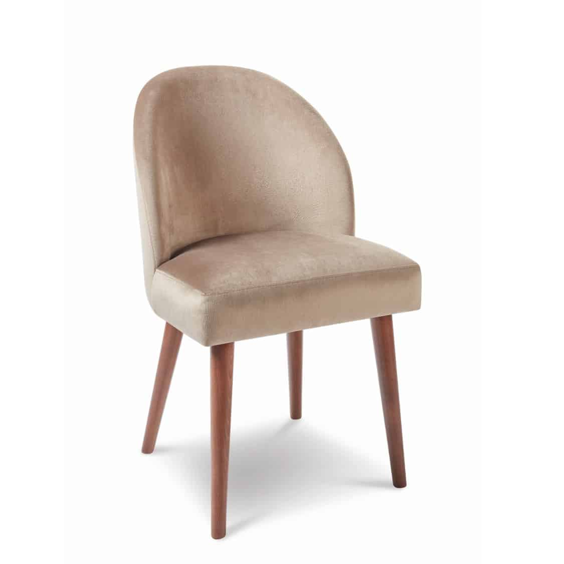 Rush side chair with round legs at DeFrae Contract Furniture