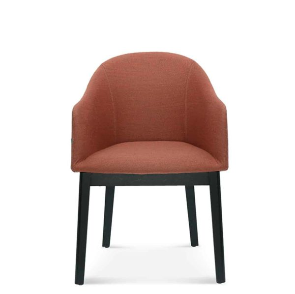 Sammy Armchair DeFrae Contract Furniture Front View