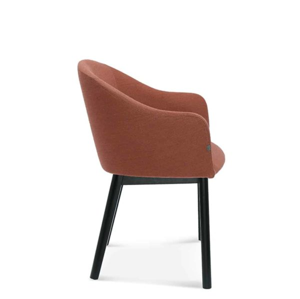 Sammy Armchair DeFrae Contract Furniture Side View
