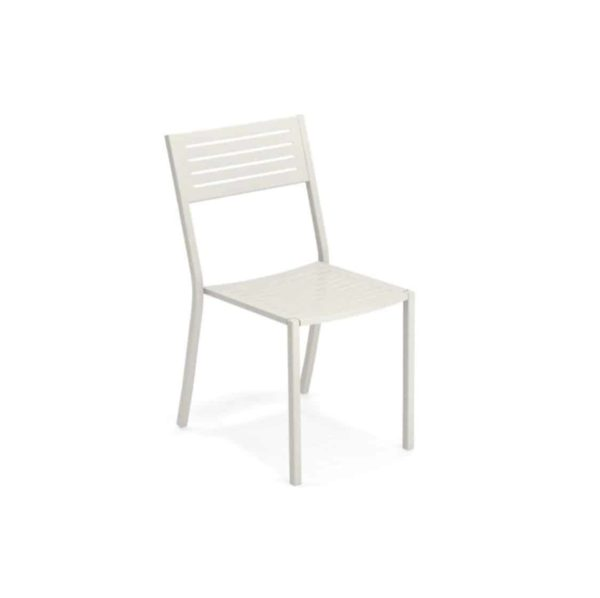 Segno Side Chair Emu DeFrae Contract Furniture Matt White