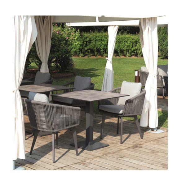Sienna Armchair DeFrae Contract Furniture in situ