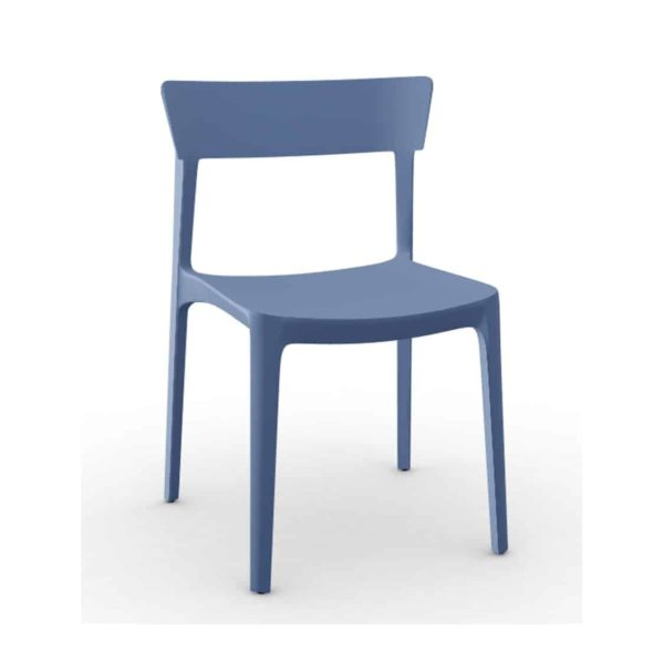 Skin Side Chair Calligaris at DeFrae Contract Furniture Blue