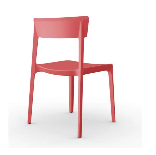 Skin Side Chair Calligaris at DeFrae Contract Furniture Red