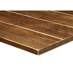 Solid Wood Scaffold Tabletops Ashwood DeFrae Contract Furniture Walnut