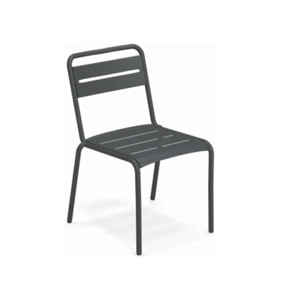 Star Side Chair Anitique Iron 22