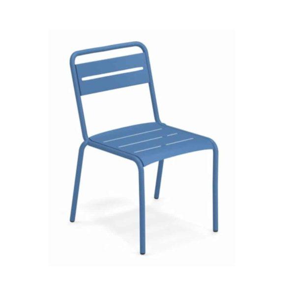 Star Side Chair Steel Marine Blue 16