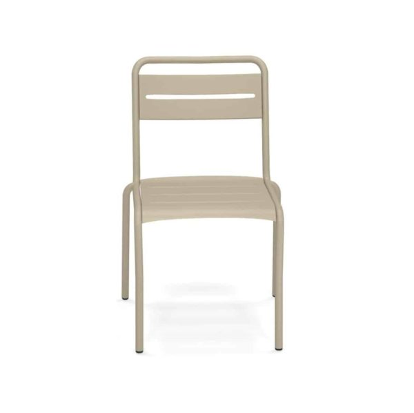 Star Side Chair Steel Taupe 71 Front View