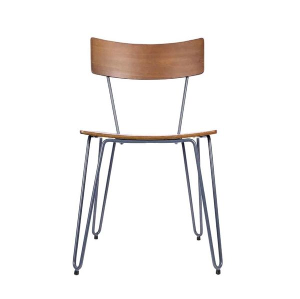 Trinian Side Chair with hairpin legs DeFrae Contract Furniture 2