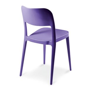 Venice Side Chair Nene Midj At DeFrae Contract Furniture Colours Lilac