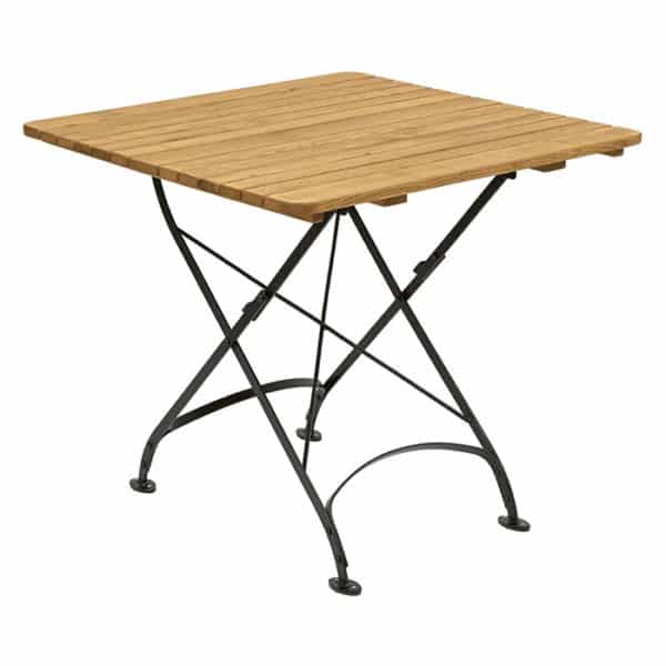 Wessex Folding Table Square