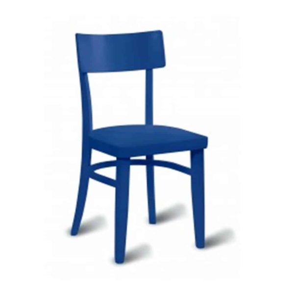 Worther side chair DeFrae Contract Furniture Blue