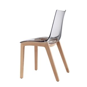 Zebby Wood Side Chair.
