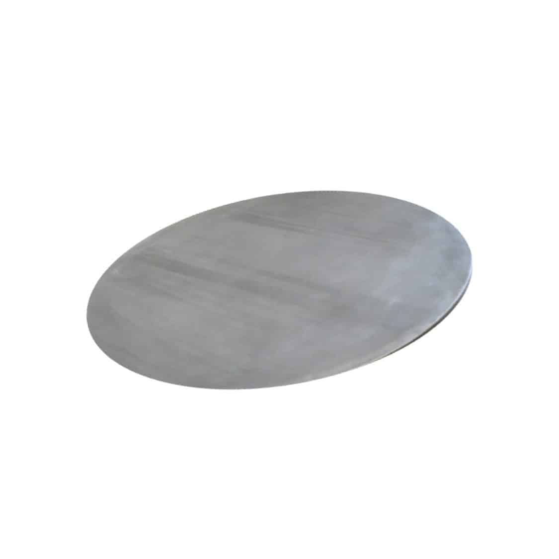 Zinc Tabletops | Metal & Industrial Tables | DeFrae Contract Furniture
