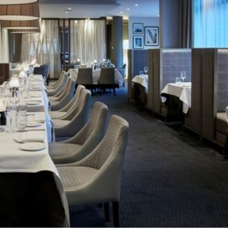 Restaurant Furniture by DeFrae Contract Furniture at Marco Pierre White Islington