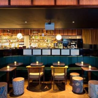 Bar furniture by DeFrae Contract Furniture at Oriole London