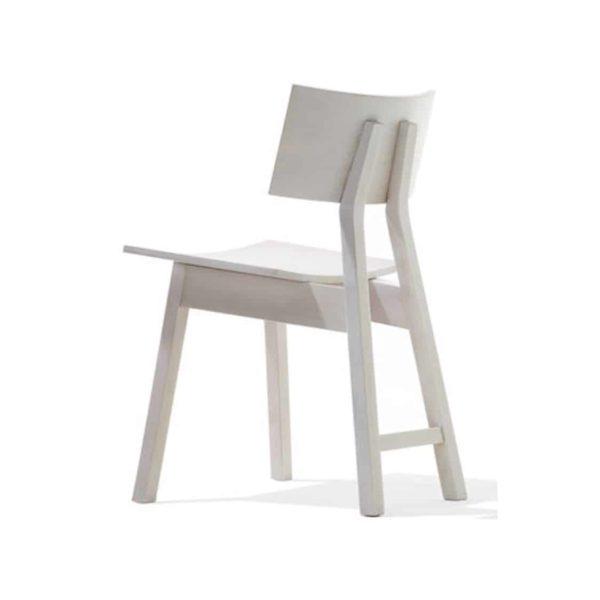 30 x 30 Wooden Chair Restaurant Bar Coffee Shop DeFrae Natural Finish