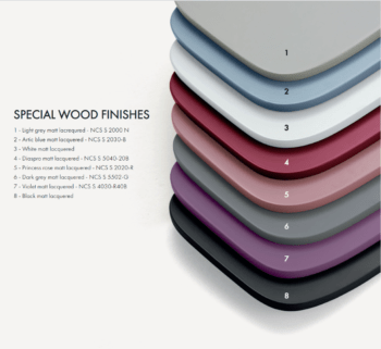 Accento Special Wood Finishes