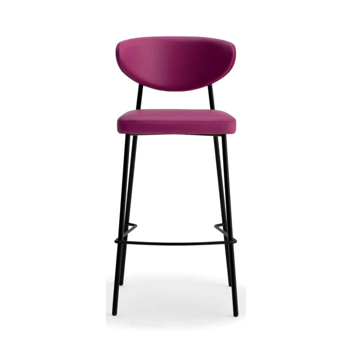 Albie Bar Stool Laco WS Brass Gold Frame DeFrae Contract Furniture