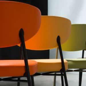 Albie Side Chair Laco Ivy DeFrae Restaurant Bar Coffee Shop